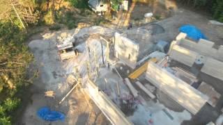 Rammed Earth under construction