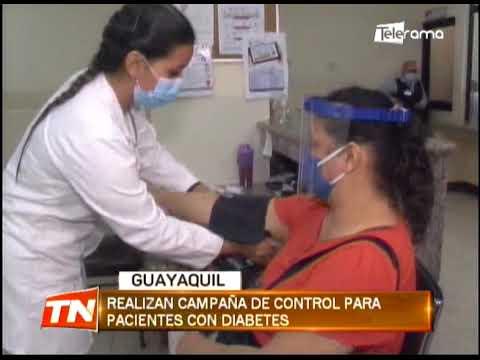 Realizan campaña de control para pacientes con diabetes