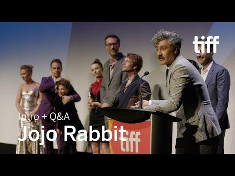 [SPOILERS] JOJO RABBIT Cast and Crew Q&A | TIFF 2019