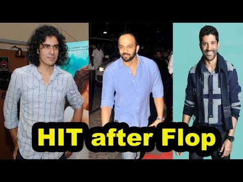 Top 5 Bollywood Directors Who Gave a Huge Hit After a Flop Film [Bollywood Cafe]