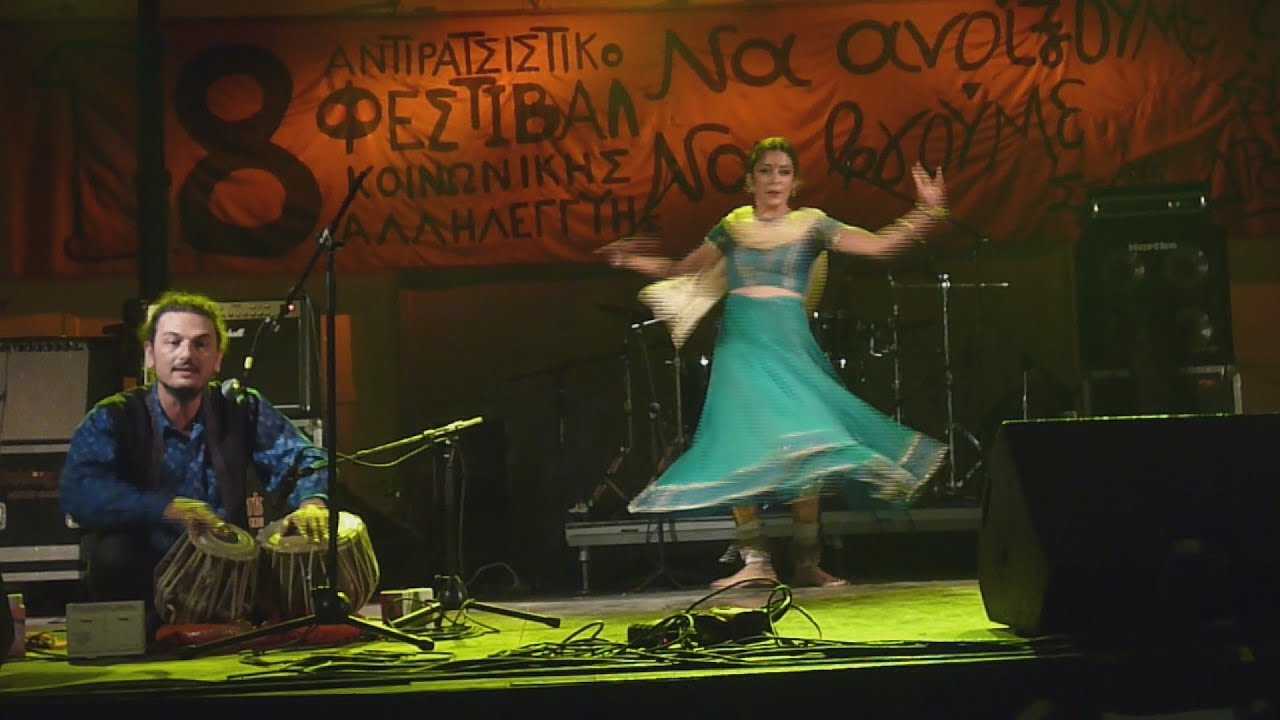"Asrai, μια ""νεράιδα"" που ""αφηγείται"" μύθους και παραμύθια της Ινδίας χορεύοντας"