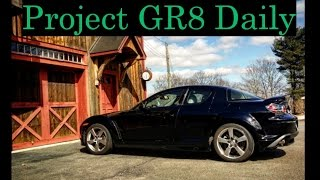 "Introducing my 2006 Mazda RX-8. The goal with this car is to build my perfect daily driver. In this video we discuss a little background information and take it out for a drive for baseline impressions.For regular updates follow: http://www.garagequinn.comhttp://www.instagram.com/gqm_garagequinnmotors@gqm_garagequinnmotorsMusic Tracks:""In the mood""KetsaLicensed under Creative Commons: By Attribution 3.0http://creativecommons.org/licenses/by/3.0/"