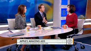 Apple's advertising was revolutionary in the first decade of the 2000s. Chris Wragge and Erica Hill talk with ad expert, Barbara ...