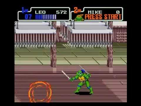 teenage mutant ninja turtles the hyperstone heist genesis rom