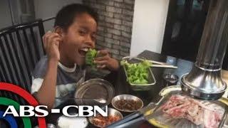 Parking boy nag-ipon para makakain sa Korean restaurant | TV Patrol