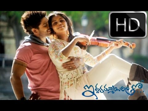 Iddarammayilatho Official First Look Promo HD - Allu Arjun, Amala Paul, Catherine Tresa
