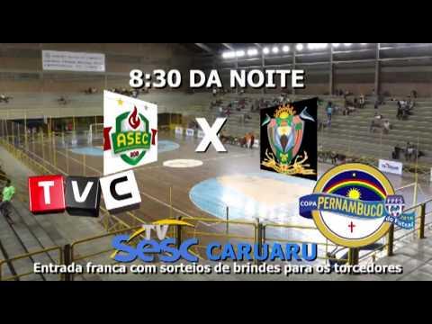 Chamada Futsal SESC caruaru