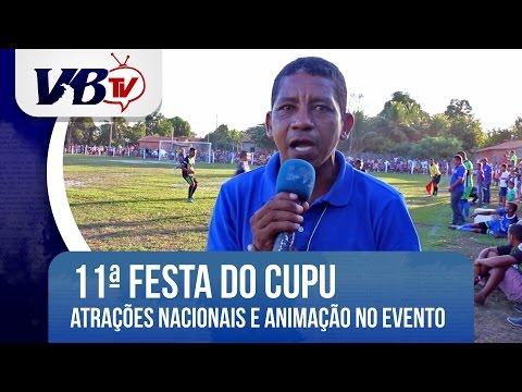 VBTv | Shows nacionais e muita animação marcam 11ª Festa do Cupu