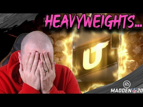 HEAVYWEIGHTS? SUPER AWESOME FUN TIME! MADDEN 20 ULTIMATE TEAM