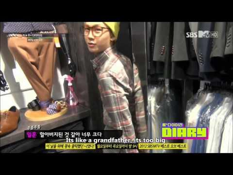 HD (ENG)121225 BTOB B+ Diary Ep 4 Part(2/4) (видео)