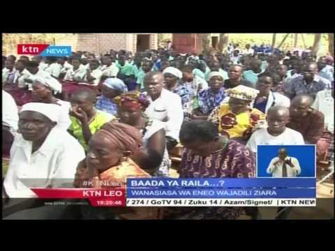 Matamshi ya Raila yakosolewa baada ya ziara yake magharibi