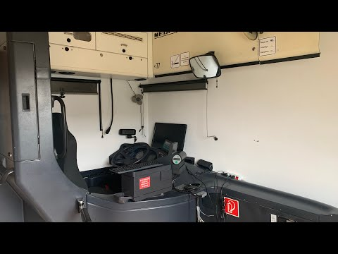 OMSI VDV-Fahrerarbeitsplatz - Meine vollfunktionsfähige Neoplan N4016 Fahrerkabine [Full-HD]