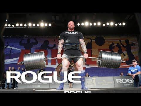 Nyt on rajua repimistä: 2018 Arnold Strongman Classic | Deadlift Highlights