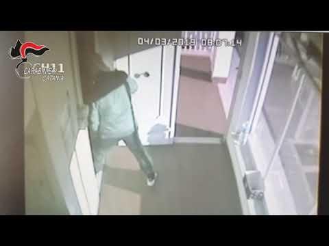 Rapina all'area di servizio VIDEO