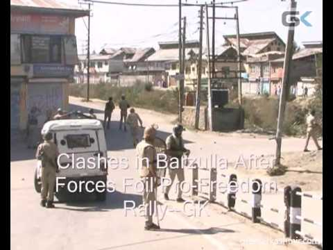 Clashes in Barzulla After Forces Foil Pro-Freedom Rally