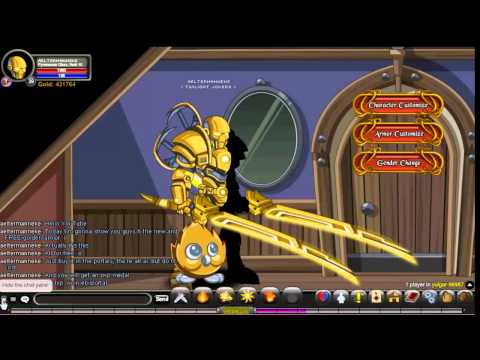 =AQW= Free Armor, Helmet, Weapon, Cape And Pet!!!