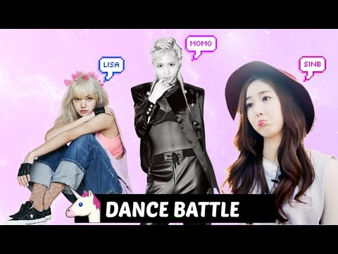 DANCE BATTLE Blackpink LISA VS Twice MOMO VS Gfriend SINB