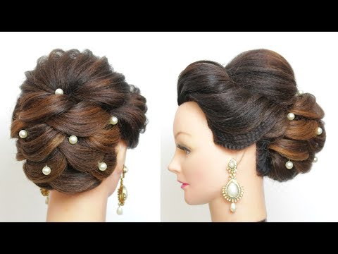 Hairstyles for long hair - New Wedding Updo. Bridal Hairstyle Tutorial For Long Hair