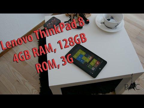 Lenovo ThinkPad 8 Enhanced Edition - Unboxing and Quick Review ( 4Gb RAM, 128GB, Intel Atom z3795)