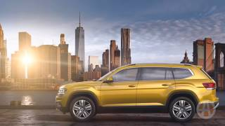 Realizing that they're a little light on popular SUVs, VW is adding the 2018 Volkswagen Atlas to their lineup. The Atlas is built in Chattanooga, Tennessee, ...