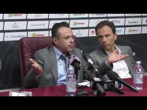 Fabio Gatto buttato fuori dalla sala stampa