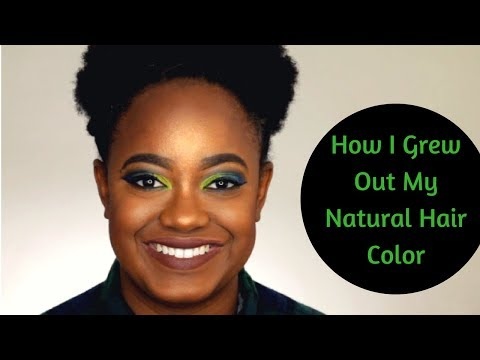 How to: Grow Out Your Natural Hair Color Fast
