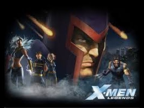 E:45 X-men Legends Retro Stream part 2