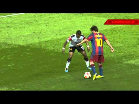 Messi skill vs Nani HD