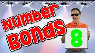 I Know My Number Bonds 8 | Number Bonds To 8 | Addition Song For Kids | Jack Hartmann