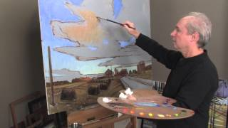 Oil Painting Techniques: Dramatic Sky