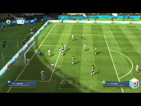 2014 FIFA World Cup Brazil Demo Gameplay Trailer  PlayStation 3 Xbox    Fifa 2014 World Cup Gameplay
