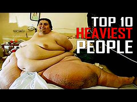 Top 10 Fattest and Heaviest People in the World