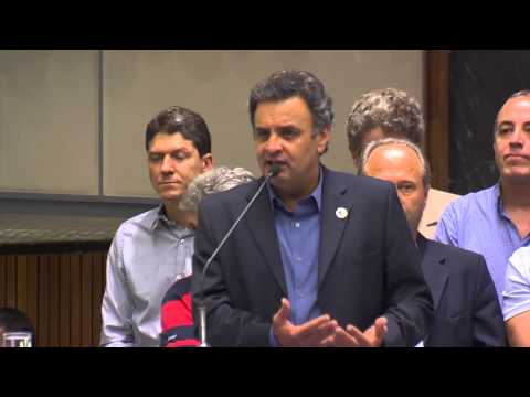 Convenção PSDB-MG – Aécio Neves fala sobre avanços do governo do PSDB em Minas