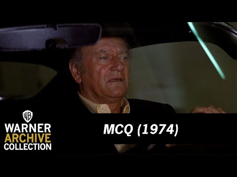 Car Chase Through Seattle   McQ   Warner Archive