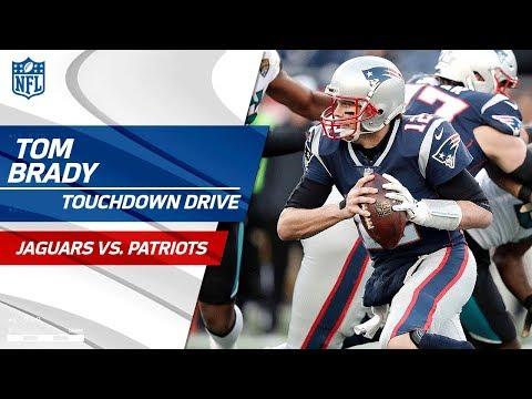 Video: Gronkowski Leaves Game w/ Concussion on Pats TD Drive | Jaguars vs. Patriots | AFC Championship HLs