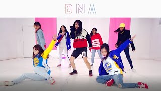 Video [EAST2WEST] BTS (방탄소년단) - DNA Dance Cover (Girls Ver.) MP3, 3GP, MP4, WEBM, AVI, FLV Januari 2018