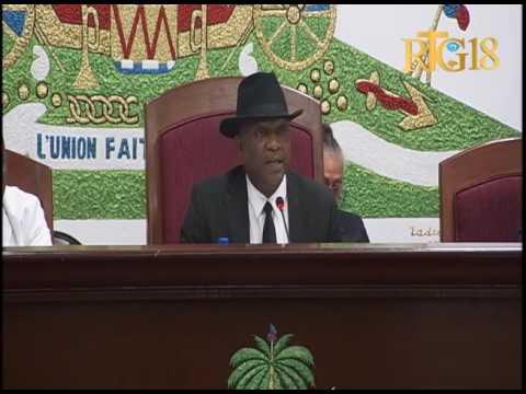 Parlement haïtien / Fermeture de la première session ordinaire de l'année législative 2017
