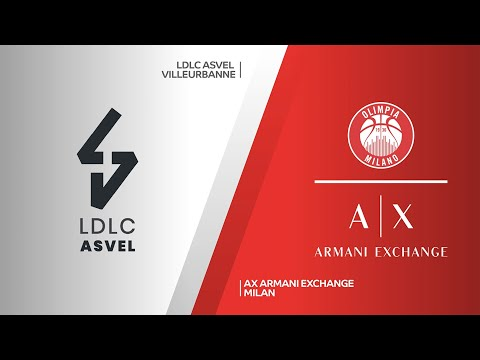 LC ASVEL Villeurbanne-AX Armani Exchange Milan Highlights | Turkish Airlines E… видео