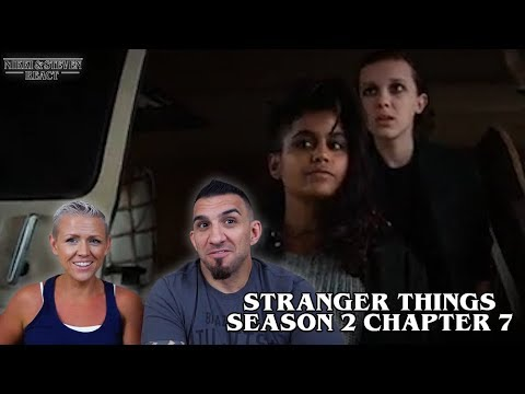 Stranger Things Season 2 'Chapter Seven: The Lost Sister' REACTION!!