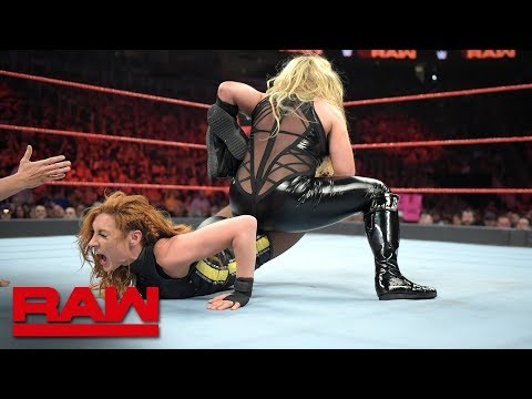 Becky Lynch & Charlotte Flair vs. Trish Stratus & Natalya: Raw, Aug. 5, 2019