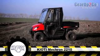 3. Kioti Mechron 2210 with DFK Cab from GearUp2Go.com