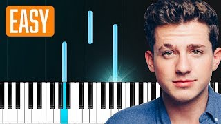 "Video Charlie Puth - ""The Way I Am"" 100% EASY PIANO TUTORIAL MP3, 3GP, MP4, WEBM, AVI, FLV Juni 2018"