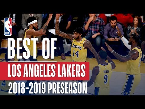 Video: Best Of Los Angeles Lakers | 2018 NBA Preseason