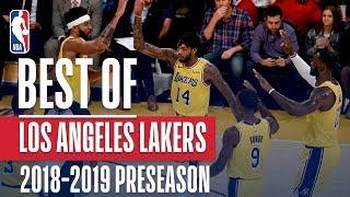 Nonton Best Of Los Angeles Lakers   2018 Nba Preseason Film Subtitle Indonesia Streaming Movie Download
