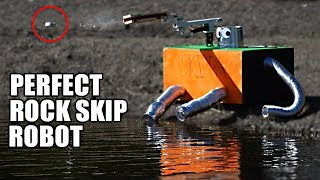 Video Rock Skip Robot- The SCIENCE of PERFECT ROCK SKIPPING MP3, 3GP, MP4, WEBM, AVI, FLV Agustus 2018