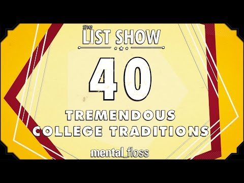 40 Tremendous College Traditions