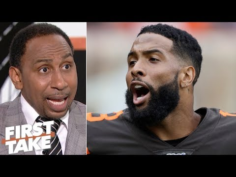 Video: The overhyped Browns got beat down by the Titans - Stephen A. | First Take