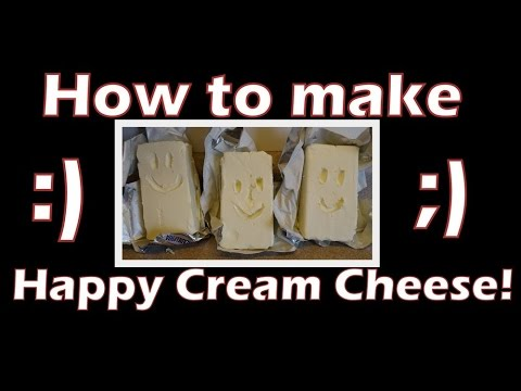 How To Make Happy Cream Cheese- With Yoyomax12
