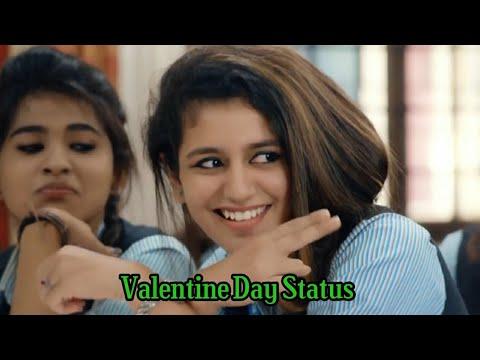 Valentines Day WhatsApp Status    Priya Prakash Varrier    Oru Adaar Love