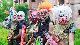 Video NERF WAR : Special Task SWAT Warriors Nerf Guns Fight Criminal Group Mask Squad Of Suicide MP3, 3GP, MP4, WEBM, AVI, FLV November 2018
